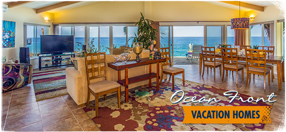 oceanfront vacation homes