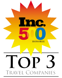 inc 500 top three in travel